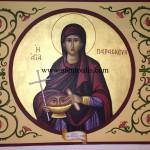 Αγία Παρασκευή, δια χειρός Μιλτιάδη Αφεντούλη - Saint Paraskevi, by the hand of Miltiadis Afentoulis