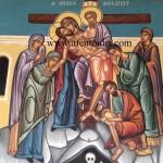 Η Αποκαθήλωση, δια χειρός Μιλτιάδη Αφεντούλη - the Deposition of the Christ, by the hand of Miltiadis Afentoulis