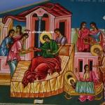 Το Γενέσιο της Θεοτόκου, δια χειρός Μιλτιάδη Αφεντούλη - The Nativity of Theotokos, by the hand of Miltiadis Afentoulis