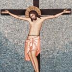Ο Εσταυρωμένος, δια χειρός Μιλτιάδη Αφεντούλη -  Crucifixion of Christ, by the hand of Miltiadis Afentoulis.