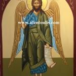 Ο Άγιος Ιωάννης, δια χειρός Μιλτιάδη Αφεντούλη - Saint John the Forerunner, by the hand of Miltiadis Afentoulis