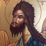 Ο Άγιος Ιωάννης ο Πρόδρομος, δια χειρός Μιλτιάδη Αφεντούλη - Saint John the Forerunner, by the hand of Miltiadis Afentoulis.
