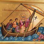ο Άγιος Νικόλαος ο σώζων τους ναυτικούς, δια χειρός ΜΙλτιάδη Αφεντούλη - Saint Nicolas Saving the Sailors, by the hand of Miltiadis Afentoulis
