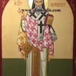 Ο Άγιος Διονύσιος, δια χειρός Μιλτιάδη Αφεντούλη - Saint Dionyssios, by the hand of Miltiadis Afentoulis