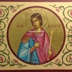 Ο Άγιος Φανούριος, δια χειρός Μιλτιάδη Αφεντούλη - Saint Fanourios, by the hand of Miltiadis Afentoulis