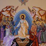 Η Ανάσταση, δια χειρός Μιλτιάδη Β. Αφεντούλη - The Resurrection, by the hand of the iconographer, Miltiadis V. Afentoulis.