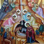 Η Γέννηση, δια χειρός Μιλτιάδη Αφεντούλη -  The Nativity, by the hand of Miltiadis Afentoulis