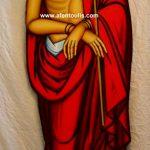 Ο Νυμφίος, δια χειρός αγιογράφου Μιλτιάδη Β. Αφεντούλη - The Bridegroom, by the hand of the iconographer Miltiadis V. Afentoulis.