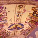 Τοιχογραφίες, δια χειρός αγιογράφου, Μιλτιάδη B. Αφεντούλη – Wall-paintings, by the hand of the iconographer, Miltiadis Afentoulis.
