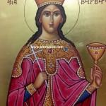 Η Αγἰα Βαρβάρα - Saint Barbara