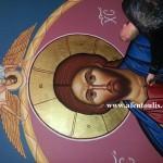 Παντοκράτωρ, Παντοκράτορας / αγιογράφος Μιλτιάδης Αφεντούλης - Pantocrator / Iconographer Miltiadis Afentoulis