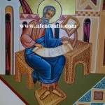 Ο Απόστολος και Ευαγγελιστής Ματθαίος, δια χειρός Μιλτιάδη Αφεντούλη - Matthew, Apostle and Evangelist, by the hand of Miltiadis Afentoulis