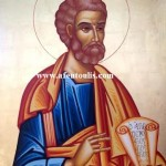 Άγιος Πέτρος, δια χειρός Μιλτιάδη Αφεντούλη -  Saint Peter the Apostle, by the hand of Miltiadis Afentoulis